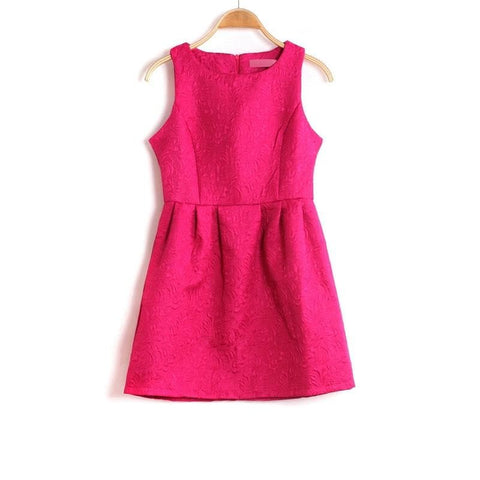 S-2XL 5 Colors Sleeveless Dress SP152271 - SpreePicky  - 2