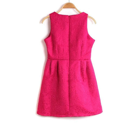 S-2XL 5 Colors Sleeveless Dress SP152271 - SpreePicky  - 3