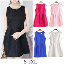 Load image into Gallery viewer, S-2XL 5 Colors Sleeveless Dress SP152271 - SpreePicky  - 1