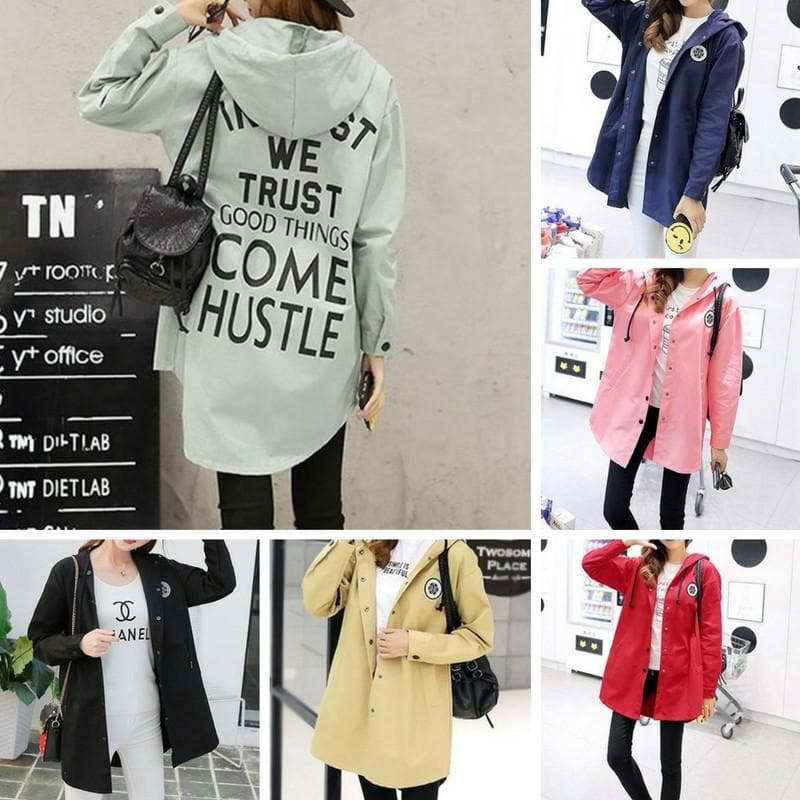 S-2XL 6 Colors Boyfriend Loose Midi Coat SP168208