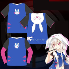 Load image into Gallery viewer, S-2XL Overwatch D.VA Hoodie T-Shirt SP167959