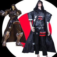 Load image into Gallery viewer, S-3XL Custom Made Overwatch Reaper Cosplay Costume SP167922