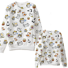 Load image into Gallery viewer, S-3XL [Neko Atsume]Adorable Cotton Jumper SP167234