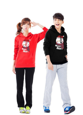 S-3XL Welcome Winter Couple Hoodie Jumper SP154098 - SpreePicky  - 3