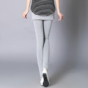 [S-4XL] 3 Colors Bottoming Skirt-Leggings SP153322 - SpreePicky  - 5