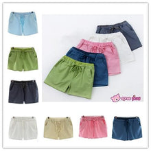 Load image into Gallery viewer, [S-4XL] 7 Colors Mori Girl Cotton & Linen Shorts SP151791 - SpreePicky  - 1