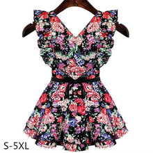 Load image into Gallery viewer, S-5XL Flying Butterflies in Floral Dress SP152447 - SpreePicky  - 1