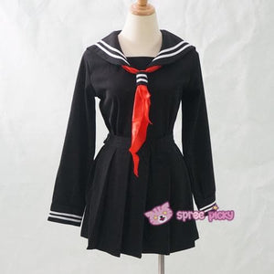S-XL 3 colors Sailor Seifuku School Uniform Set SP153570 - SpreePicky  - 8