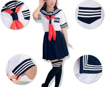 Load image into Gallery viewer, S-XL 3 colors Sailor Seifuku School Uniform Set SP153570 - SpreePicky  - 5