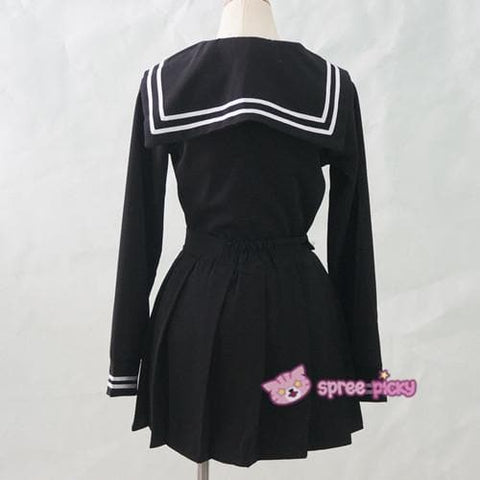 S-XL 3 colors Sailor Seifuku School Uniform Set SP153570 - SpreePicky  - 9