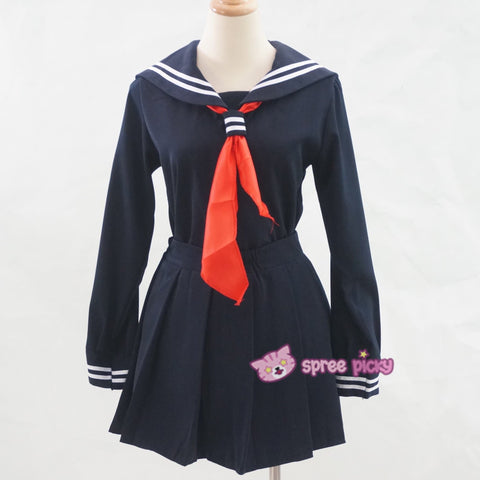 S-XL 3 colors Sailor Seifuku School Uniform Set SP153570 - SpreePicky  - 10