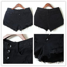 Load image into Gallery viewer, S-XL 7 Colors Candy Hot Shorts Hole Jean Shorts SP152160 - SpreePicky  - 5