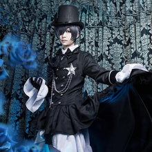 Load image into Gallery viewer, S-XL Black Butler Ciel Phantomhive Cosplay Costume SP168033