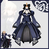 S-XL Custom Made Black Fate/Zero Saber Cosplay Costume SP168093