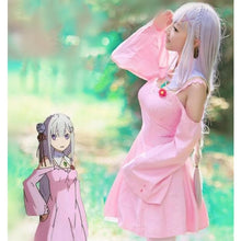 Load image into Gallery viewer, S-XL Custom Made Pink Zero kara Hajimeru Isekai Seikatsu Emilia Cosplay Costume SP168092