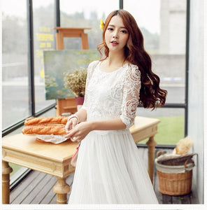 S-XL My White Fairy Dress SP152616 - SpreePicky  - 3