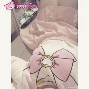 [S-XL]Sailor Chibi Moon Fleece Jumper Top SP141185 - SpreePicky  - 4