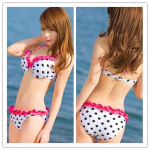 S/M/L 3 Colors Cutie Printing Bikini Swimming Suit SP152489 - SpreePicky  - 3