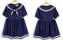 Load image into Gallery viewer, S/M/L 3 Colors Summer Stripe Sailor Dress SP152499 - SpreePicky  - 4