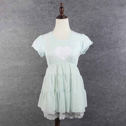 S/M/L 3 Colors Sweet Heart Ruffle Dress SP152372 - SpreePicky  - 6