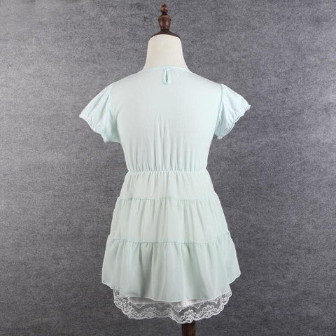 S/M/L 3 Colors Sweet Heart Ruffle Dress SP152372 - SpreePicky  - 7