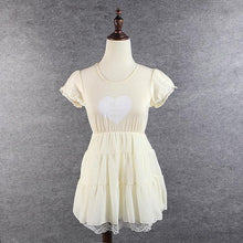 Load image into Gallery viewer, S/M/L 3 Colors Sweet Heart Ruffle Dress SP152372 - SpreePicky  - 4
