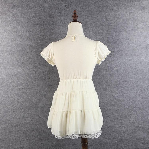 S/M/L 3 Colors Sweet Heart Ruffle Dress SP152372 - SpreePicky  - 5
