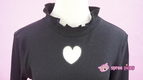 S/M/L Beige/Black/Purple Steal My Heart Sweater SP154275 - SpreePicky  - 11