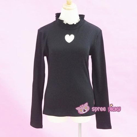 S/M/L Beige/Black/Purple Steal My Heart Sweater SP154275 - SpreePicky  - 9