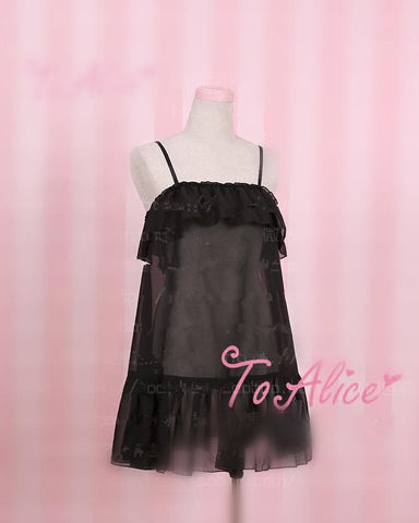 S/M/L Black/Pink Sexy Dress SP167108