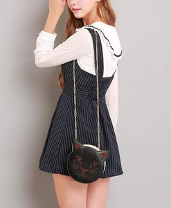 S/M/L Black Stripes Sleeveless Dress SP154285 - SpreePicky  - 6