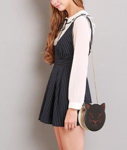 S/M/L Black Stripes Sleeveless Dress SP154285 - SpreePicky  - 7