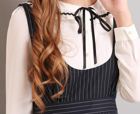S/M/L Black Stripes Sleeveless Dress SP154285 - SpreePicky  - 8
