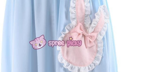 S/M/L Blue Dolly Bunny Dress SP153068 - SpreePicky  - 6