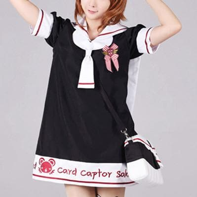 S/M/L [Card Captor Sakura] Seifuku Uniform Dress SP153791