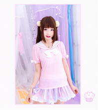 Load image into Gallery viewer, S/M/L Cutie Bunny Ears Bowknots Tee Shirt SP153069 - SpreePicky  - 2