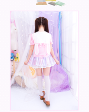 Load image into Gallery viewer, S/M/L Cutie Bunny Ears Bowknots Tee Shirt SP153069 - SpreePicky  - 3