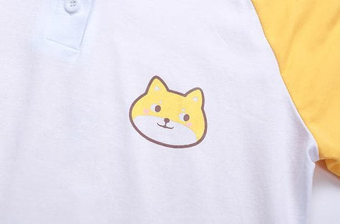 S/M/L Doge Short Sleeve Hoodies T-shirt SP167757