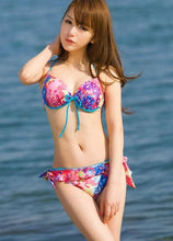 Load image into Gallery viewer, S/M/L Galaxy Pink Bikini 2 pieces set Swimming Suit SP152964 - SpreePicky  - 2