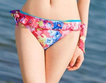 S/M/L Galaxy Pink Bikini 2 pieces set Swimming Suit SP152964 - SpreePicky  - 3