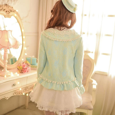 S/M/L Green Forest Fairy Coat SP153625 - SpreePicky  - 4