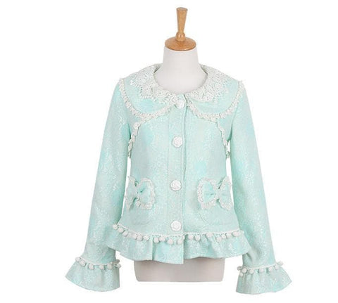 S/M/L Green Forest Fairy Coat SP153625 - SpreePicky  - 8