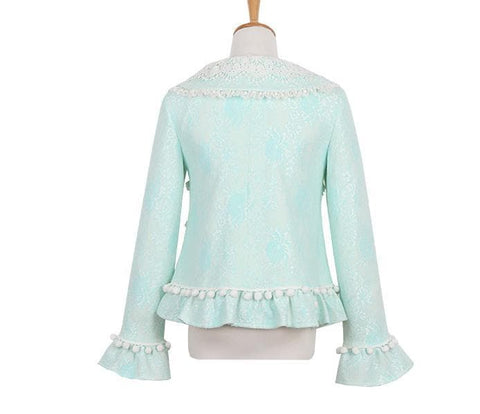 S/M/L Green Forest Fairy Coat SP153625 - SpreePicky  - 9