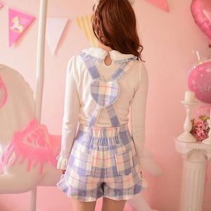 S/M/L Little Blue Fairy Suspender Shorts SP153627 - SpreePicky  - 5