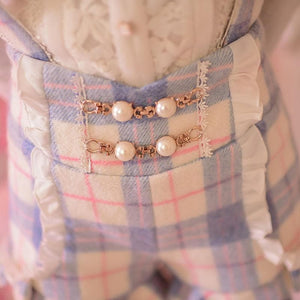 S/M/L Little Blue Fairy Suspender Shorts SP153627 - SpreePicky  - 7