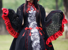 Load image into Gallery viewer, S/M/L Lolita Classical Chinese Style Azure Dragon Dress/Tippet Cosplay Costume SP165441