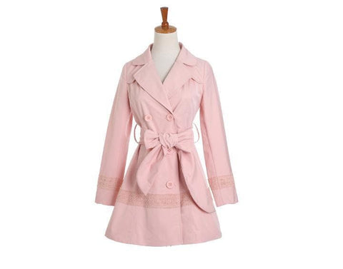 S/M/L Pinky Princess Double-breasted Fashion Coat SP153501 - SpreePicky  - 7