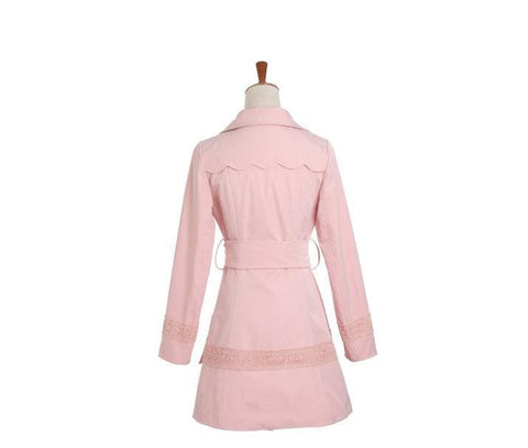 S/M/L Pinky Princess Double-breasted Fashion Coat SP153501 - SpreePicky  - 9
