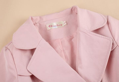 S/M/L Pinky Princess Double-breasted Fashion Coat SP153501 - SpreePicky  - 10