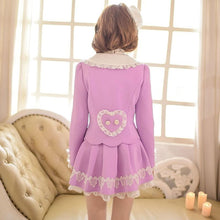 Load image into Gallery viewer, S/M/L Purple Elegant Coat SP153620 - SpreePicky  - 5
